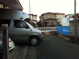 アパート工事(8)